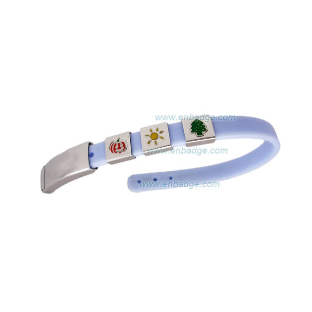 PVC Wristband with Charm